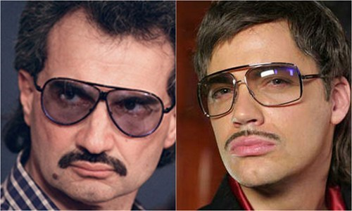 Saudi Prince Alwaleed Bin Talal Totally Looks Like Gunther