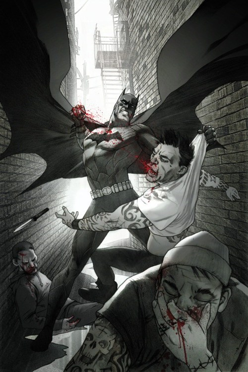 Batman Loves Face Punching
