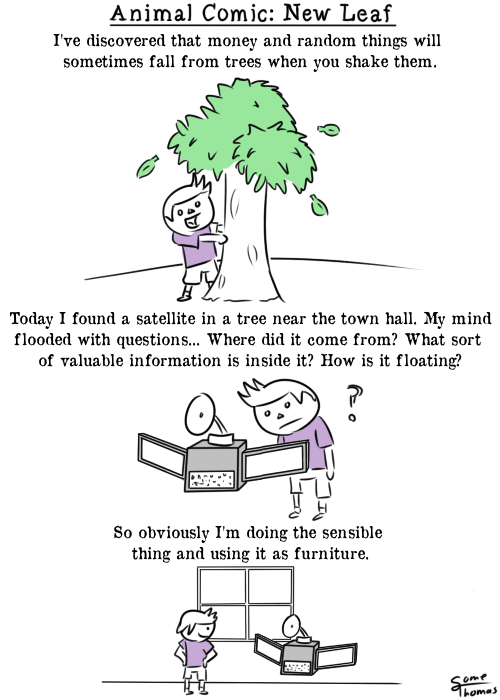 Animal Crossing: New Leaf Logic