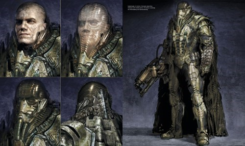Concept Art General Zod's Armor From Man of Steel
