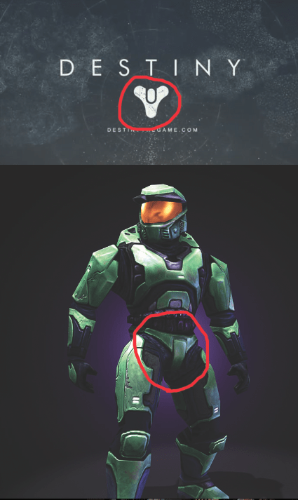 Whenever I See the Destiny Logo, It Reminds Me of Master Chief's Crotch