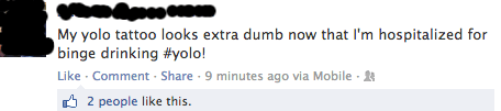 You Are the Dumbest Kind of Person