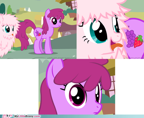 Cutie Marks are not food!