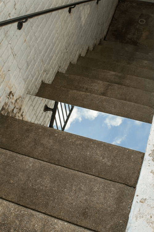 Mirror on Some Stairs? Instant Mind-Blow.