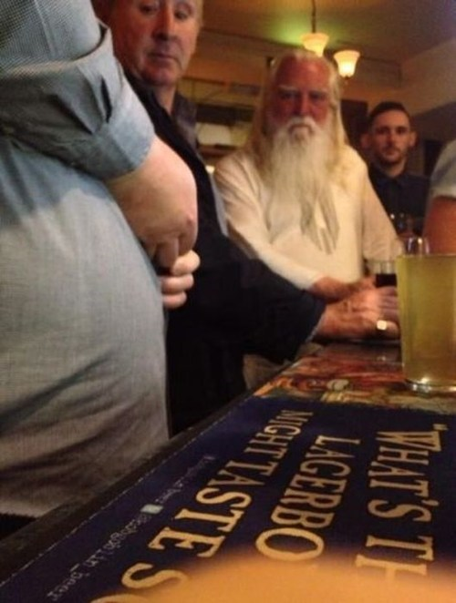 The LORD Himself Requires a Pint