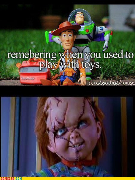 They Said Get a Toy, It Would Be Your Friend