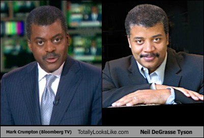 Mark Crumpton (Bloomberg TV) Totally Looks Like Neil DeGrasse Tyson