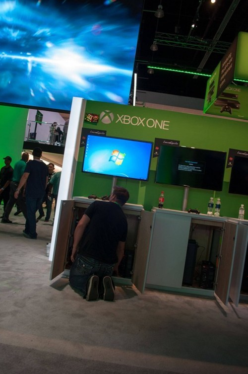 Xbox One Games at E3... Running On a Windows 7 PC