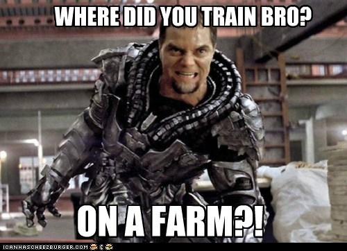 Where did you train?