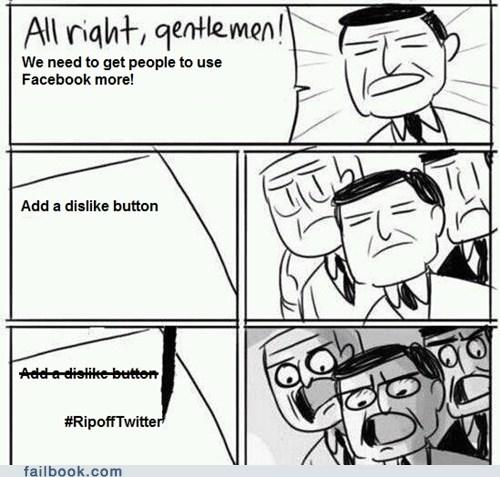 twitter,instagram,dislike button,failbook,g rated