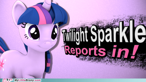 Twilight Sparkle for SSB4.
