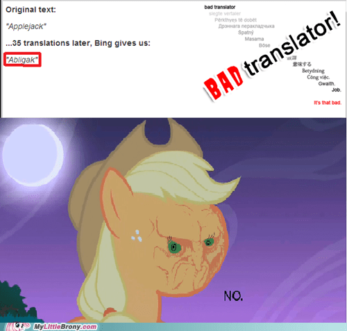 Applejack Does Not Approve