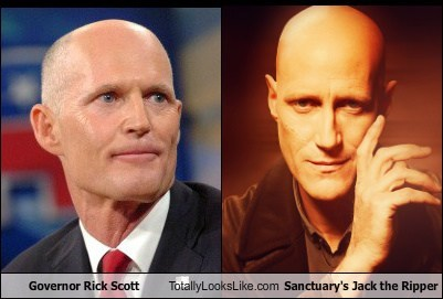 Rick Scott,Governor,totally looks like,jack the ripper,Sanctuary,funny