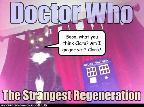 The Doctor's 12th Regeneration Was A Little Bit, Er, Different
