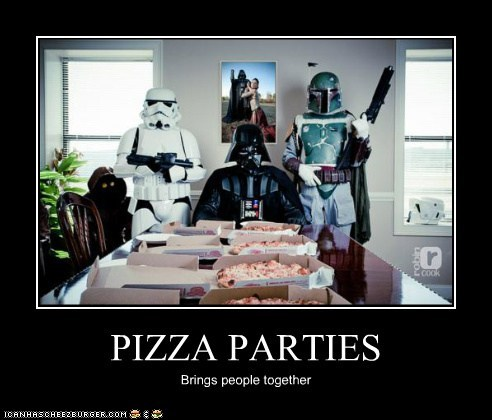 PIZZA PARTIES