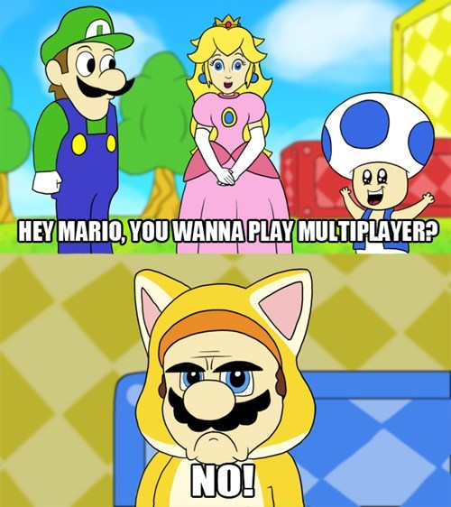 Grumpy Cat Mario