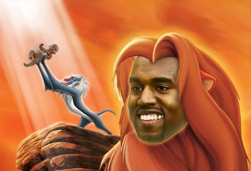 How Kanye Now Pictures Himself