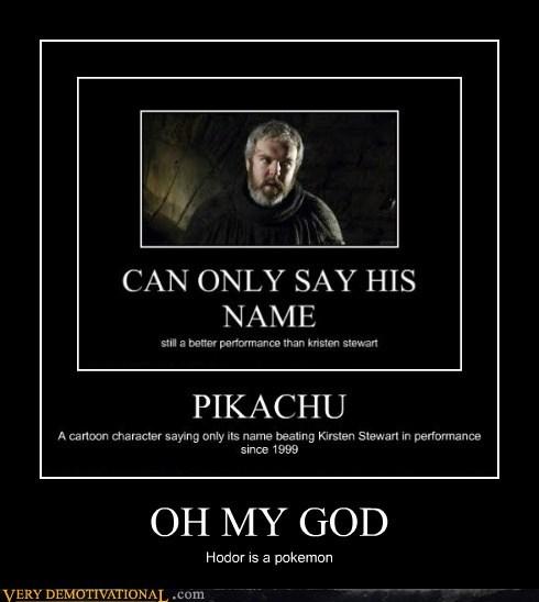 hodor,Pokémon,Game of Thrones,funny