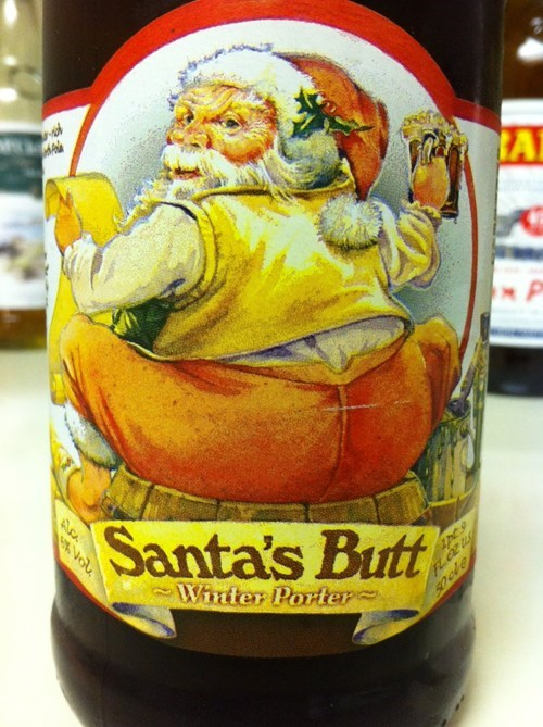 Just Because It's Not Christmas Doesn't Mean You Can't Grab Santa's Butt