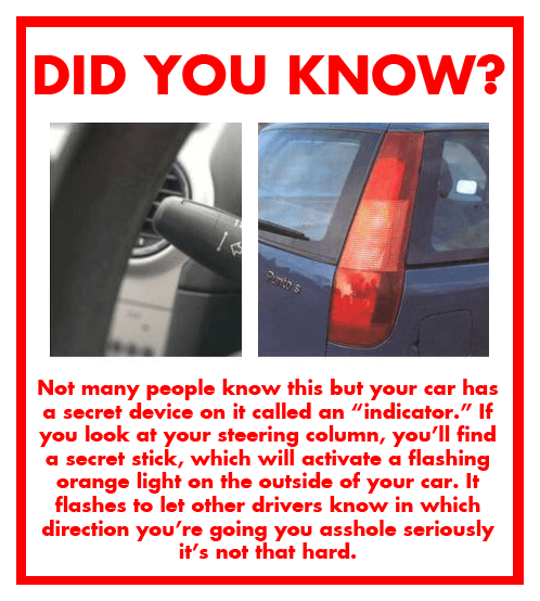 Important Driving Announcement!