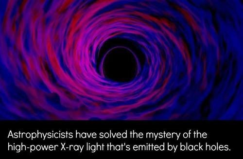 The X-Rays and Blackholes