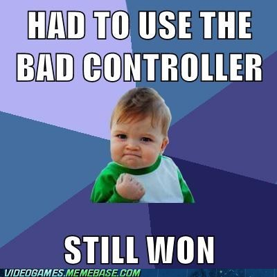 Memes,success kid,controllers