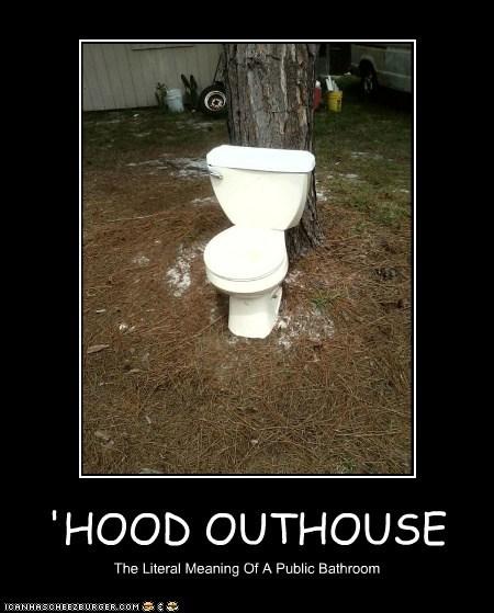 'HOOD OUTHOUSE