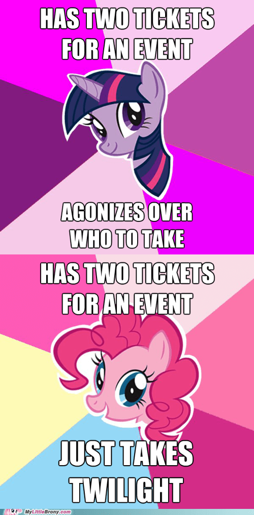 Pinkie is Much More Decisive