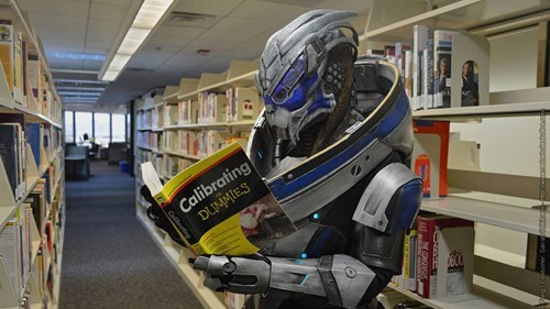 Garrus is Learning