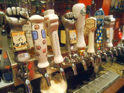 beer,iron fist,taps,handles,awesome,funny