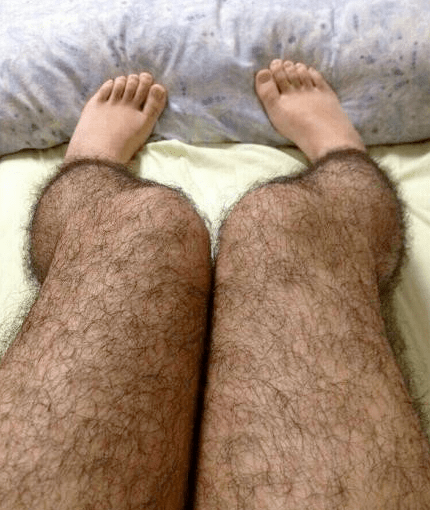 Want to Fend Off Pervs? Then Get a Pair of Hairy Stockings!