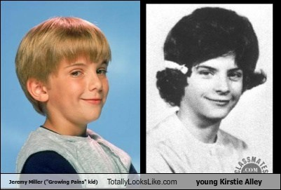 "Jeremy Miller (""Growing Pains"" kid) Totally Looks Like young Kirstie Alley"