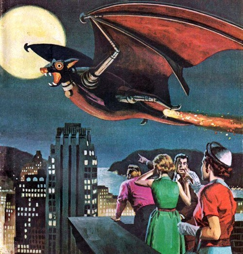 Bats Used to Be Really Frightening