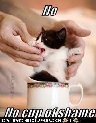No  No cup of shame