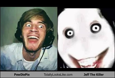 PewDiePie Totally Looks Like Jeff The Killer
