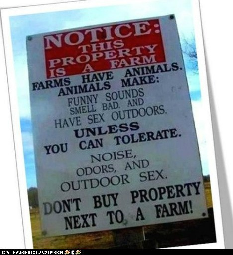 Warning to City Slickers!