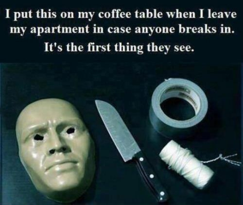 How to Scare Off Home Intruders