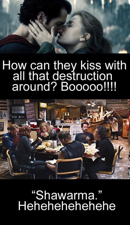 KISS,funny,superman,avengers