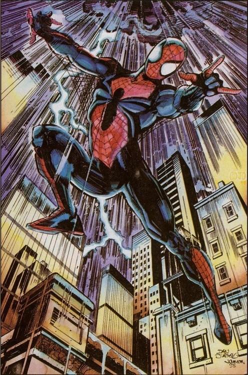 Spider-Man,art,scarlet spider,funny,concept