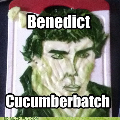 Benedict Cumberboard Can Work as Well