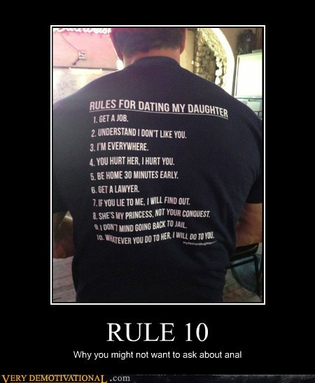 rules,scary,dad,daughter