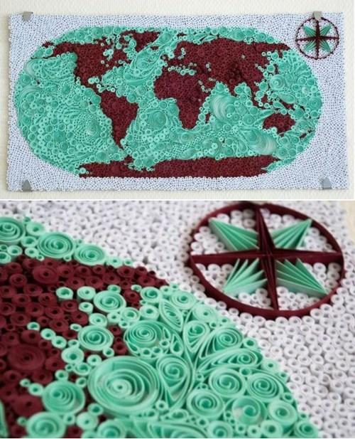 design,map,paper