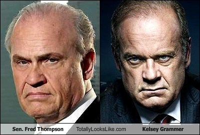 Sen. Fred Thompson Totally Looks Like Kelsey Grammer