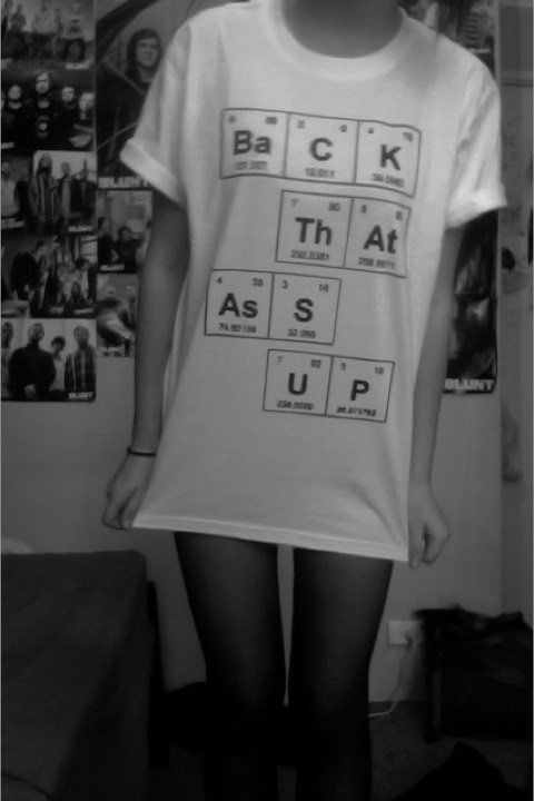 elements,T.Shirt,science,funny,School of FAIL