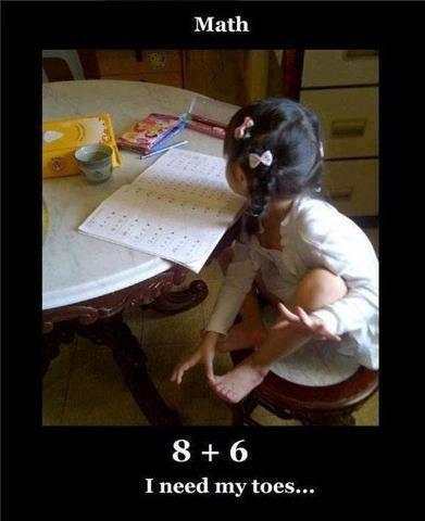 advanced,toes,kids,math,funny