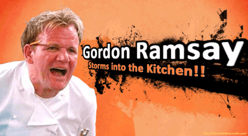 Gordon Ramsay Would Have More Taunts Than Fighting Moves