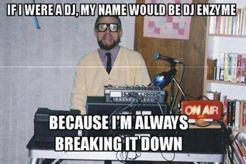 science,djs,enzymes