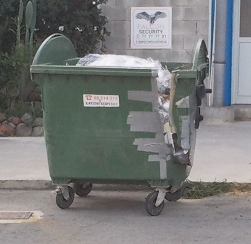 garbage,duct tape,funny