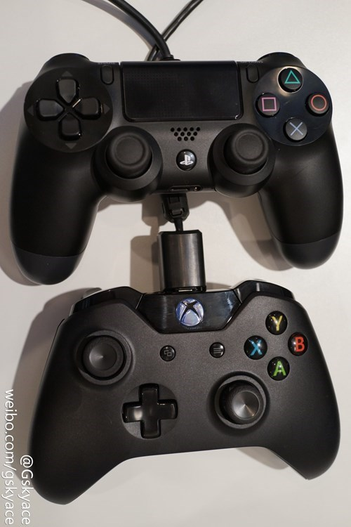 PlayStation 4,controllers,xbox one