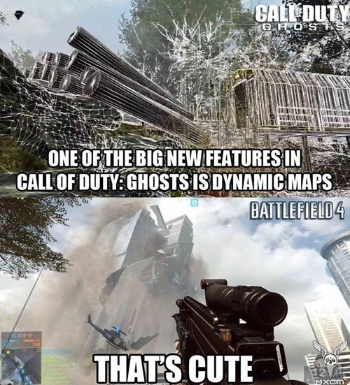 Battlefield 4 Has Something to Say to Call of Duty